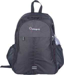 Integriti Classic Office College School Backpack - 35 litre Grey Backpack d715816ca358b