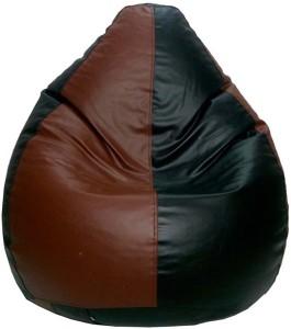 Psygn XXL Teardrop Bean Bag  With Bean Filling