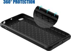 best service c398a cb2b2 Kapa Back Cover for Mi Redmi 3S PrimeBlack, Back Cover, Plastic, Rubber