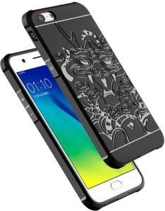quality design 11e27 35e71 Kapa Back Cover for Oppo A57Black, Back Cover