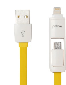 Pebble 2 in 1 USB/Data Cable USB Cable