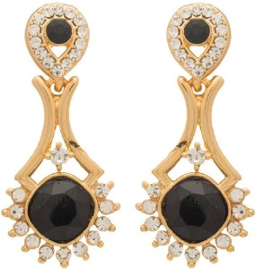 NIA for Voylla Artificial Classic Embellished Crystal Alloy Dangle Earring