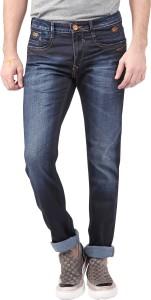 fb879ec6 Nostrum Jeans Slim Men s Dark Blue Jeans Best Price in India ...