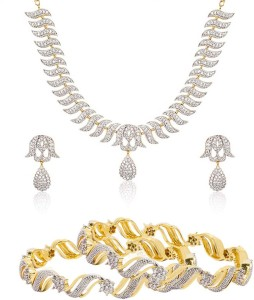 d7298bded Zeneme Alloy Jewel Set Multicolor Best Price in India
