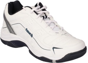 53cb2a152c658 Lakhani Touch Running Shoes White Best Price in India