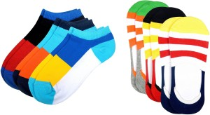Color Fevrr Men & Women Ankle Length Socks