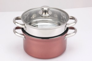 Pristine Induction Compatible PTFE (Non-stick) Steamer