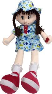 Soft Buddies Candy Doll Blue  - 29.6 inch