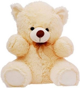Click4Deal 60 CM Cream Soft Teddy Bear  - 60 cm