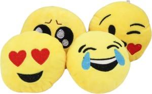 Galaxy World Four Smiley Cushions  - 32 cm