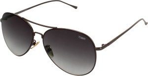 f5e9ad80bd9d TOMMY FASHION SV 2049 Aviator Sunglasses Grey Best Price in India ...