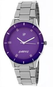 Carios CR1015 Quality Unique Hot Blue Ladies Elegant Color Explorer Chain Edition Analog Watch  - For Girls