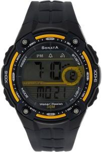 Sonata NH7949PP02J Digital Watch  - For Men