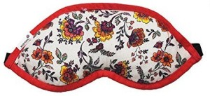 1cfcbf47d9b Kanyoga 100% Polyester Filled With Dried Lavender Flowers Relaxing Floral  Printed Eye Mask (25cm