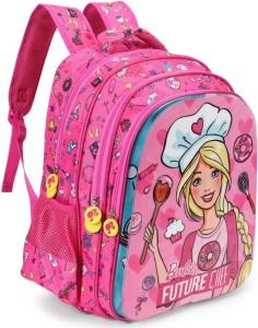 44022b6c3647 Barbie School Bag School Bag Multicolour 16 inch Best Price in India ...