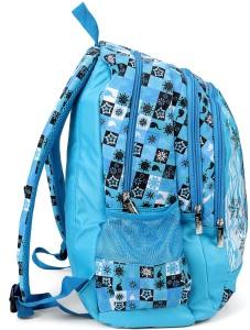 b7de1f60d3c2 Disney Frozen Elsa Olaf Blue School Bag 19 Inch Backpack Blue 19 ...