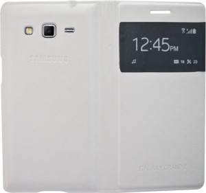 low priced 8ee0a 636dc Coverage Flip Cover for Samsung Galaxy Grand 2 G7102White