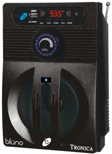 tronica Tronica Bluetooth Bluno Mp3/Sd Card/Aux/Fm Player With Speaker Portable Bluetooth Home Audio Speaker