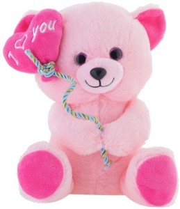 11a980eff087 Jungly World Jungly world I Love You 32 cm Pink Best Price in India ...