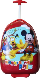 Gamme DISNEY MICKEY & PLUTO-SQUARE KIDS LUGGAGE TROLLEY BAG Trolley