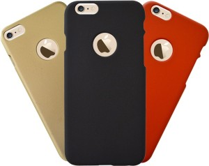 promo code d91b7 dff93 COVERNEW Back Cover for Apple iPhone 6Black, Gold, Red