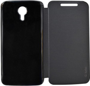huge discount 4f0d4 a9065 Coverage Flip Cover for Motorola Moto G Turbo EditionBlack