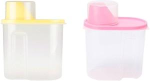 Shrih Set Of 2  - 1.8 L Plastic Multi-purpose Storage Container