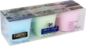 Richcraft rich-101  - 300 ml Plastic Tea, Coffee & Sugar Container