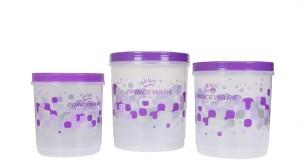 Princeware Twister Packaging Daba  - 9.77 L, 7.14 L, 5.10 L Plastic Multi-purpose Storage Container