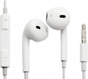 JBD Premium Hi Quality Earpods Wired Headset With Mic
