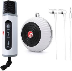 Technogeek Portable Karaoke System Microphone