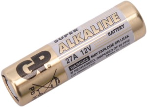Rechargeable Alkaline Batteries >> Gp 12v 27a Rechargeable Alkaline Battery