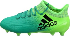 3f2921137 Adidas X 16 1 FG Football Shoes Green Black Best Price in India ...