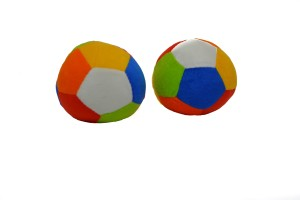 Toyland ultra SOFT High Quality Pure Foam BALL For Kids PACK OF 2  - 7 cm