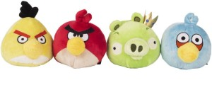 Angry Birds AB_4in1_nos_1  - 9 cm
