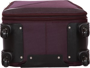 e62e0f10441 Diligent Excursion Smart Travel Case 24 Expandable Check-in Luggage - 24  inchPurple