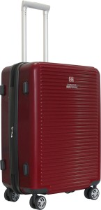 Swiss Military GRACE SERIES POLYCARBONATE MEDIUM SIZE 24 INCH HARD TOP LUGGAGE Expandable  Check-in Luggage - 24 inch
