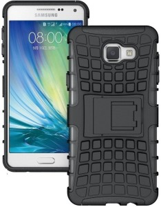 7241669de67 Cover Alive Back Cover for Samsung Galaxy A3 (2016) ( Black Shock Proof )