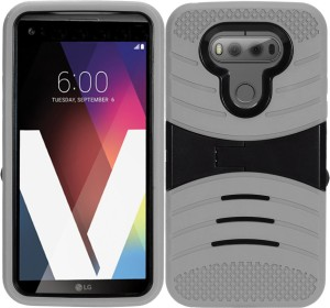 sports shoes 3ae6c c1576 Zizo Wireless Back Cover for LG V20Multicolor, Cases with Holder, Silicon