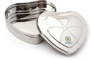 Coconut Heart  - 1300 ml Stainless Steel Food Storage