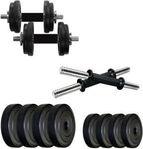 Star X 32 kg PVC plates dumbbell set Adjustable Dumbbell