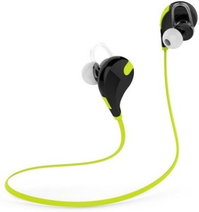 G S QY7-JOGGER-Green-HP5 bluetooth Headphones