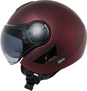 aed965f7 Vega Verve Motorbike Helmet Burgundy Best Price in India | Vega ...