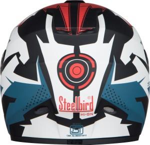 95fd91dd Steelbird Vision Hunk Motorbike Helmet Black Blue Best Price in ...