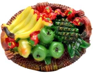 krishivcreation fruit basket Fridge Magnet