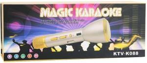 VibeX ® KTV-K088 Mini Magic Wireless Karaoke Player Mic Bluetooth Speaker Microphone