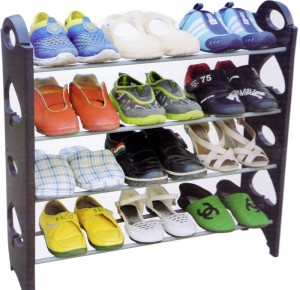 Global Gifts Stainless Steel Shoe Stand