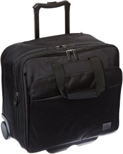 Victorinox Werks Professional Officer 17 Expandable Overnight Wheeled Case With Tablet Or eReader Pocket Small Travel Bag
