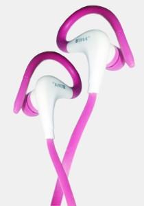 Plantech Adiva Hot Pink Sports Wired Headphones