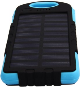 UIMI U3 Waterproof Dust Proof Solar mobile charger With Dual USB Port of capacity 6000 mAh Power Bank